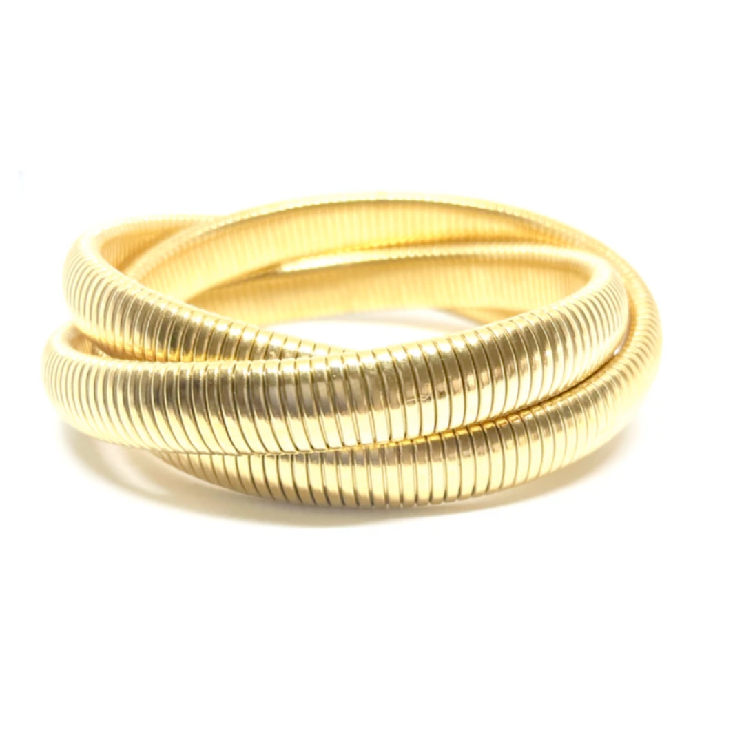 Accessory Concierge AC Jewelry Twisted Cobra Bracelet
