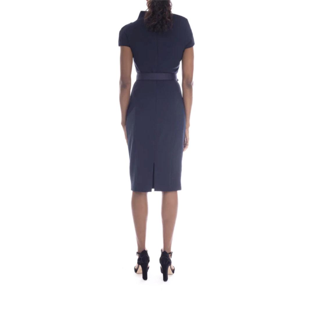 Badgley Mischka Badgley Mischka Odessa Asymmetrical Dress