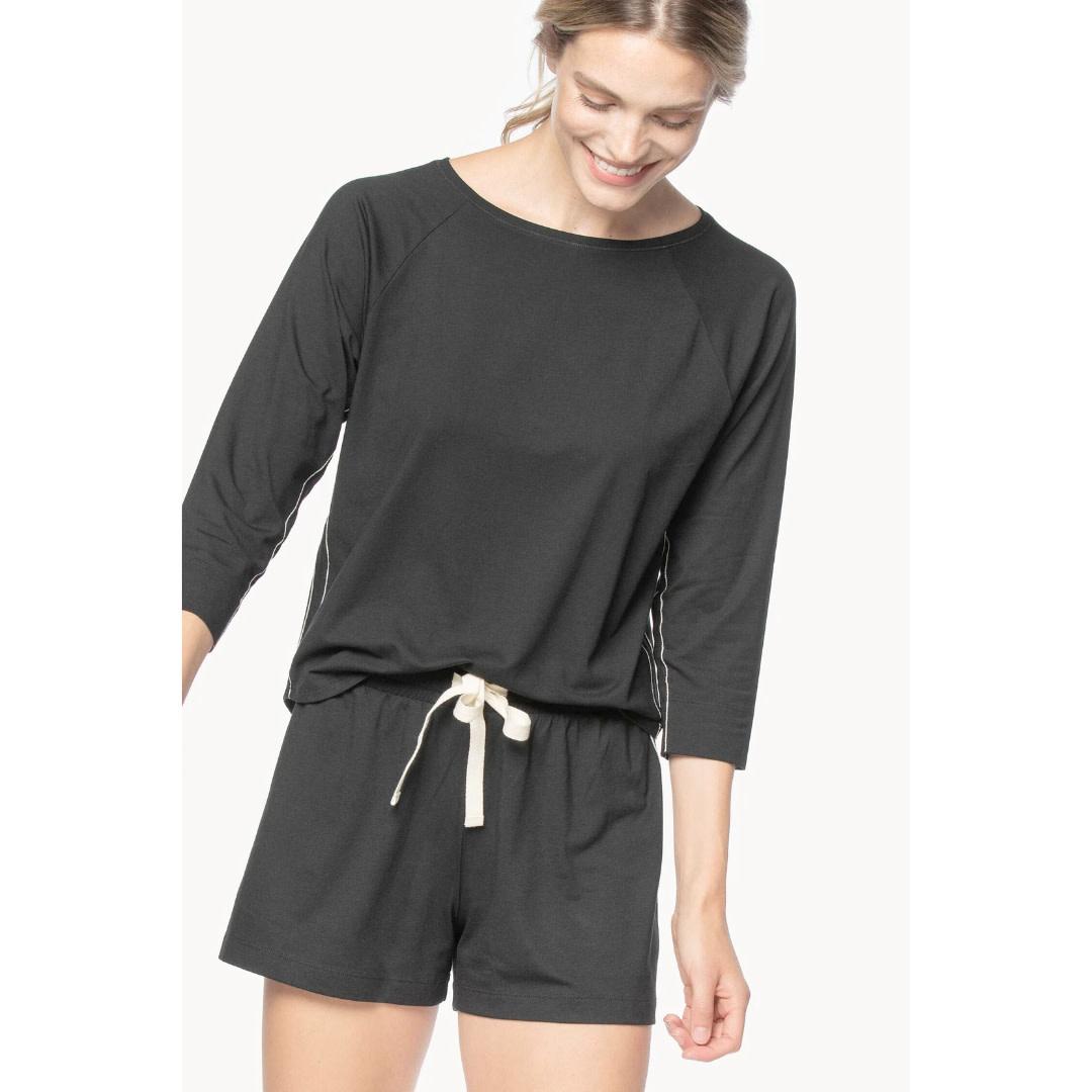 Lilla P Lilla P 3/4 Sleeve & Short Set Pajamas