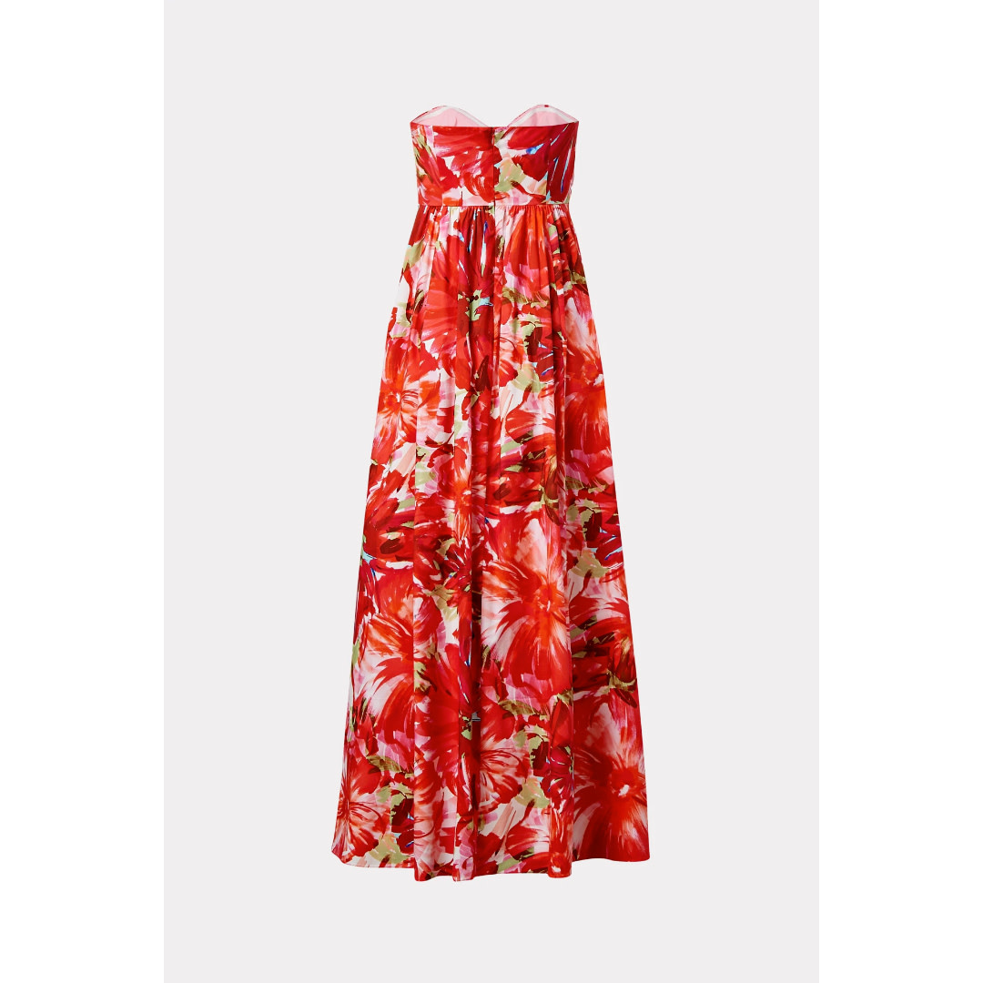 Milly Milly Noah Floral Poplin Dress