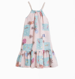 Vilagallo Vilagallo Pastel Swirl Dress