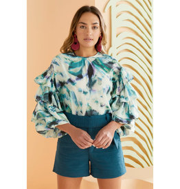 Marie Oliver Marie Oliver Ferne Ruffle Blouse