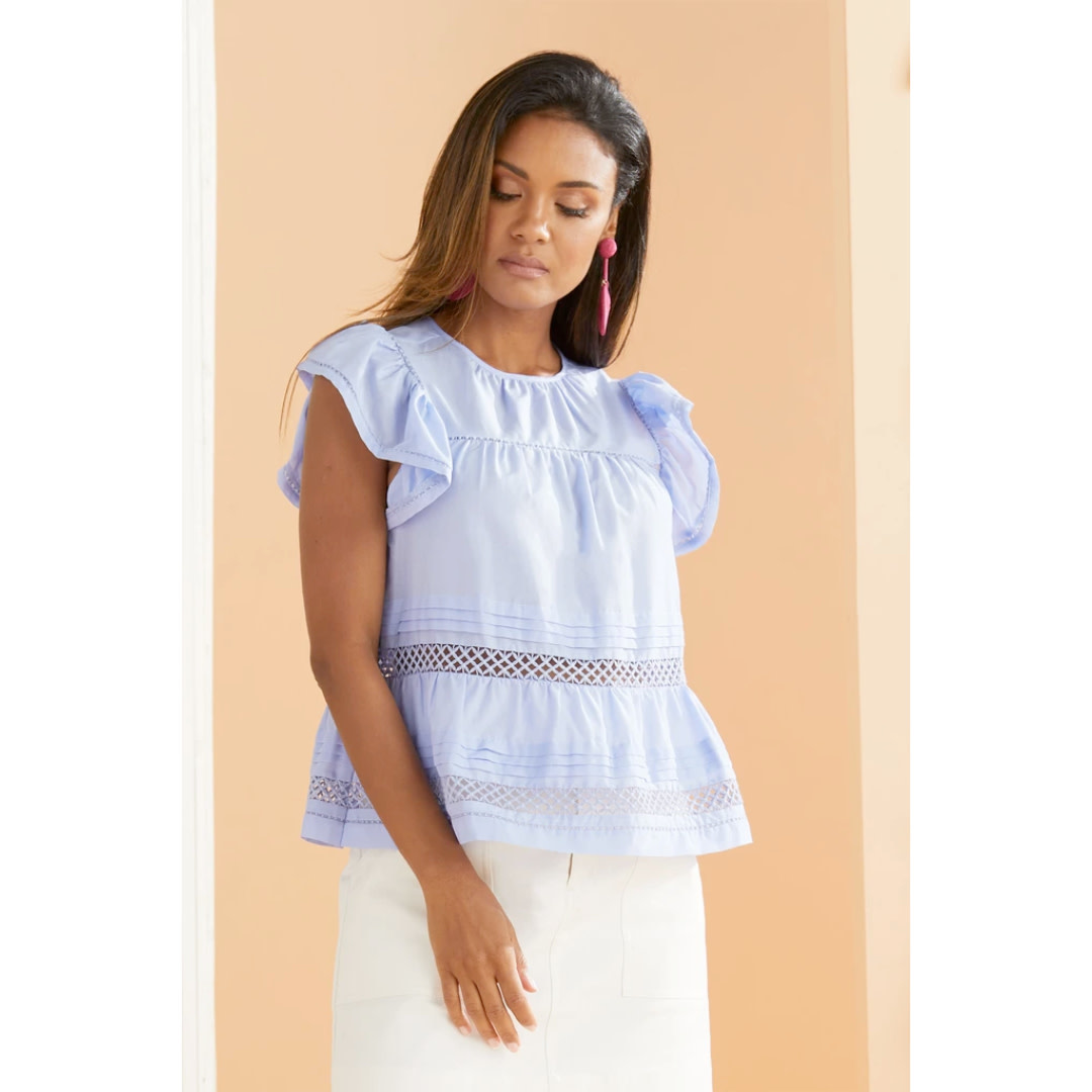 Marie Oliver Marie Oliver Pennie Top