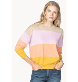 Lilla P Lilla P Oversized Jewel Neck Sweater