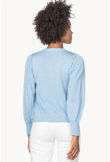Lilla P Lilla P Puff Sleeve Crewneck Sweater