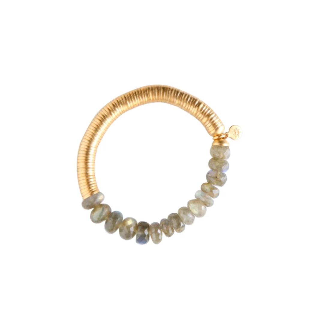 Catherine Page Catherine Page Evra Gold Stone Bracelet