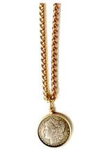 Lj Sonder Lj Sonder Gwen Coin Link Necklace