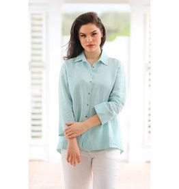 iLinen iLinen Button Down Top