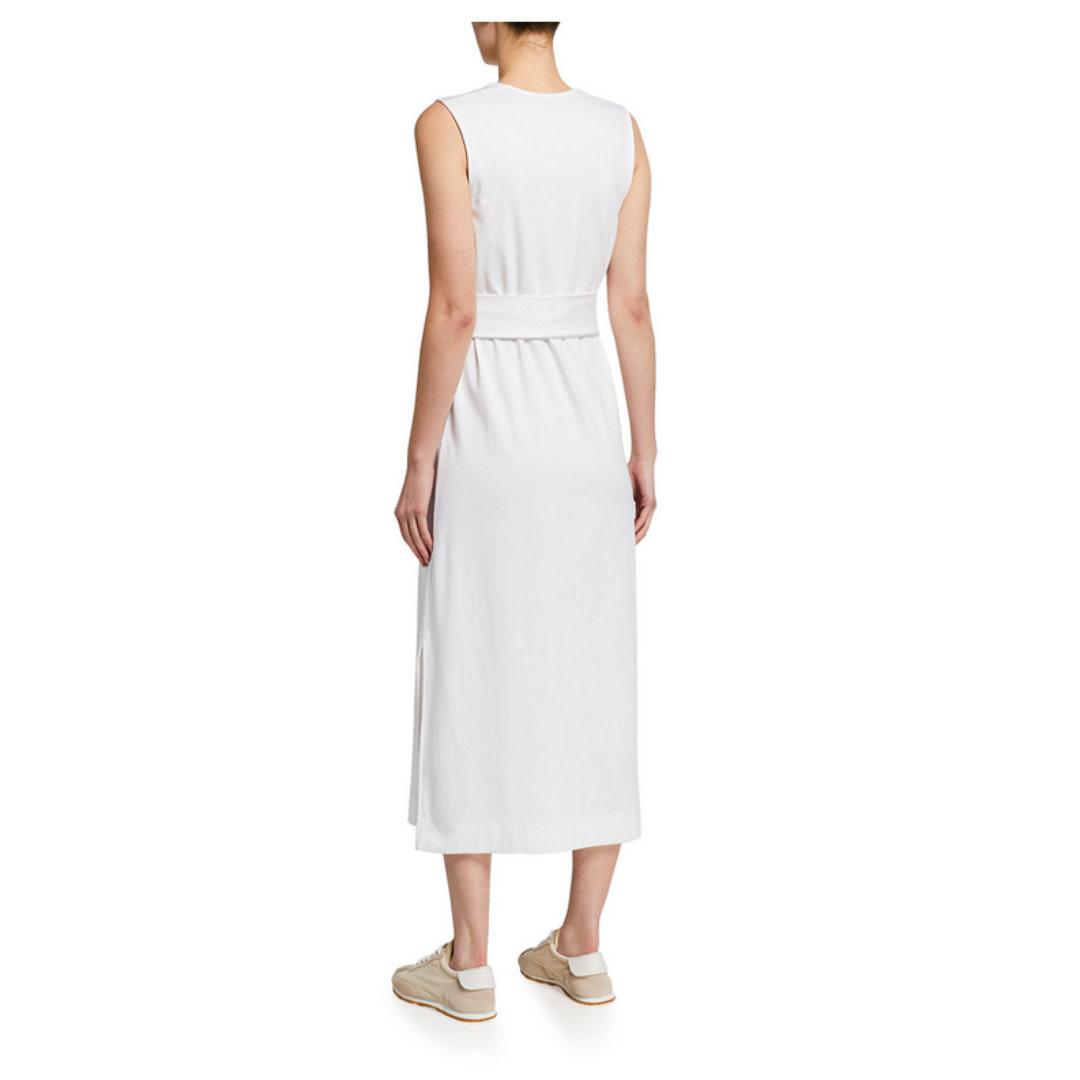 Vince Vince Sleeveless Wrap Dress
