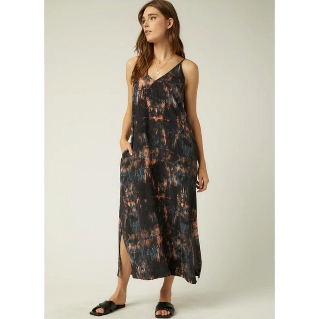 Fifteen Twenty Fifteen Twenty Side Slit Midi Dress