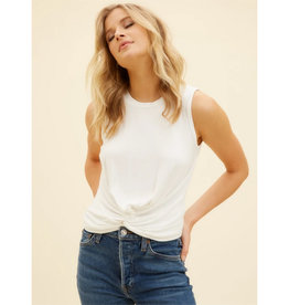 Fifteen Twenty Fifteen Twenty Twist Front Crop Top