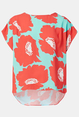 Milly Milly Dolman Pop Frill Top