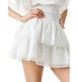 Alice & Olivia Alice & Olivia Jojo Ruffle Mini Skirt