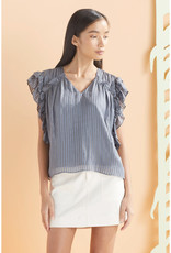 Marie Oliver Marie Oliver Phoebe Rufle Blouse