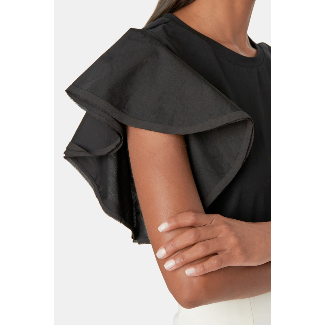 Milly Milly Parker Ruffle T-Shirt