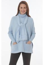 J'Envie J'envie Ribbed Sleeve Turtleneck Pullover
