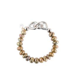 Catherine Page Catherine Page Chain Link Bracelet w/ Stones