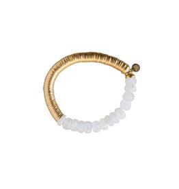 Catherine Page Catherine Page Evra Bracelet w/ Gold Stones
