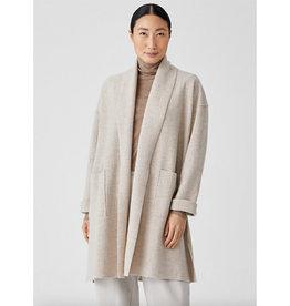 Eileen Fisher Eileen Fisher High Collar Coat
