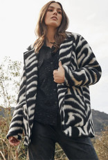 Fifteen Twenty Fifteen Twenty Abstract Zebra Jacket