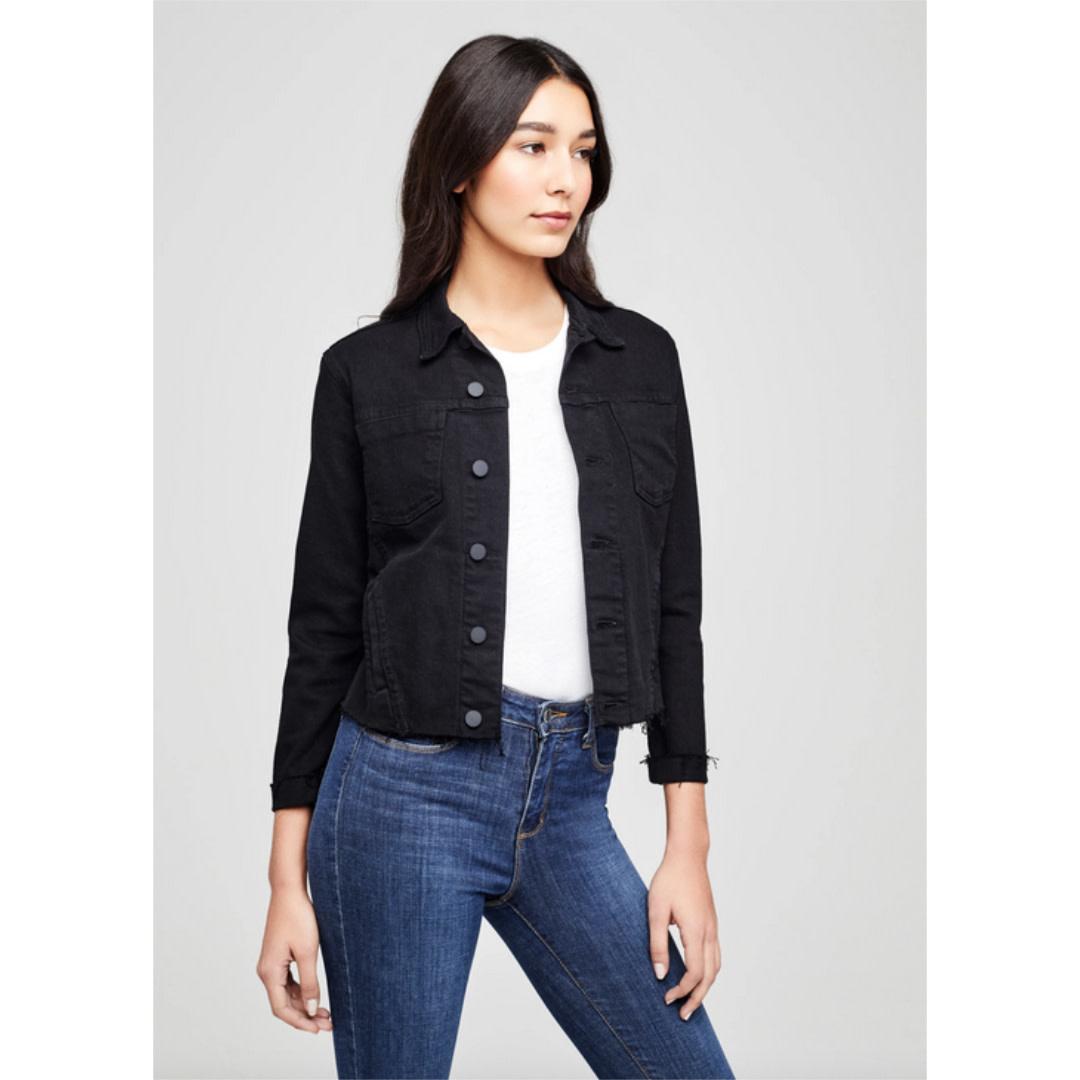 L'AGENCE L'agence Janelle Slim Raw Jacket