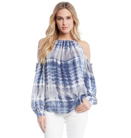 Fifteen Twenty Fifteen Twenty Split Sleeve Top