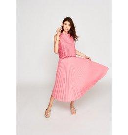 Tara Jarmon Tara Jarmon Pleated Poplin Skirt