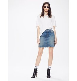 Mother Mother Tomcat Mini Skirt Fray
