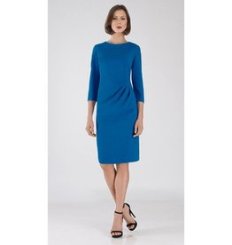 Bigio Crepe Waist Draped Dress