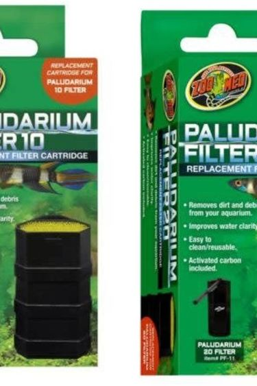 Zoomed Cartouche de filtre pour paludarium - Paludarium filter cartridge