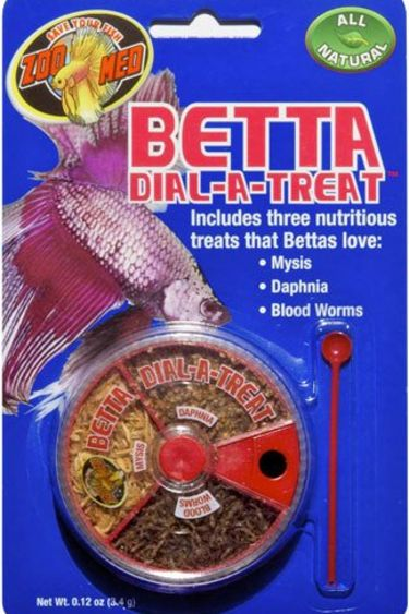 Zoomed Friandise pour betta 3.4 g - Betta Dial-A-Treat™
