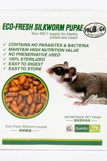 ProBugs Vers à soie Pupae Eco-Fresh Silkworm Pupae