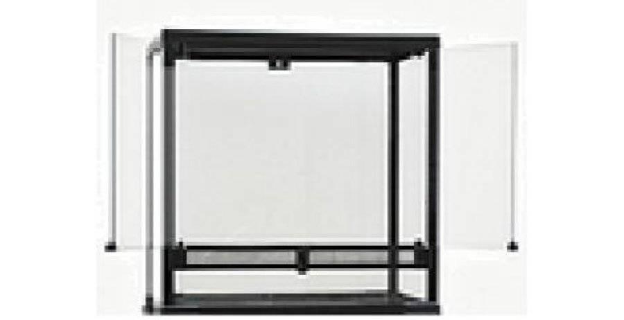 Atasuki Terrarium portes pivotantes de Gastronome 16 X 16 X 16 po