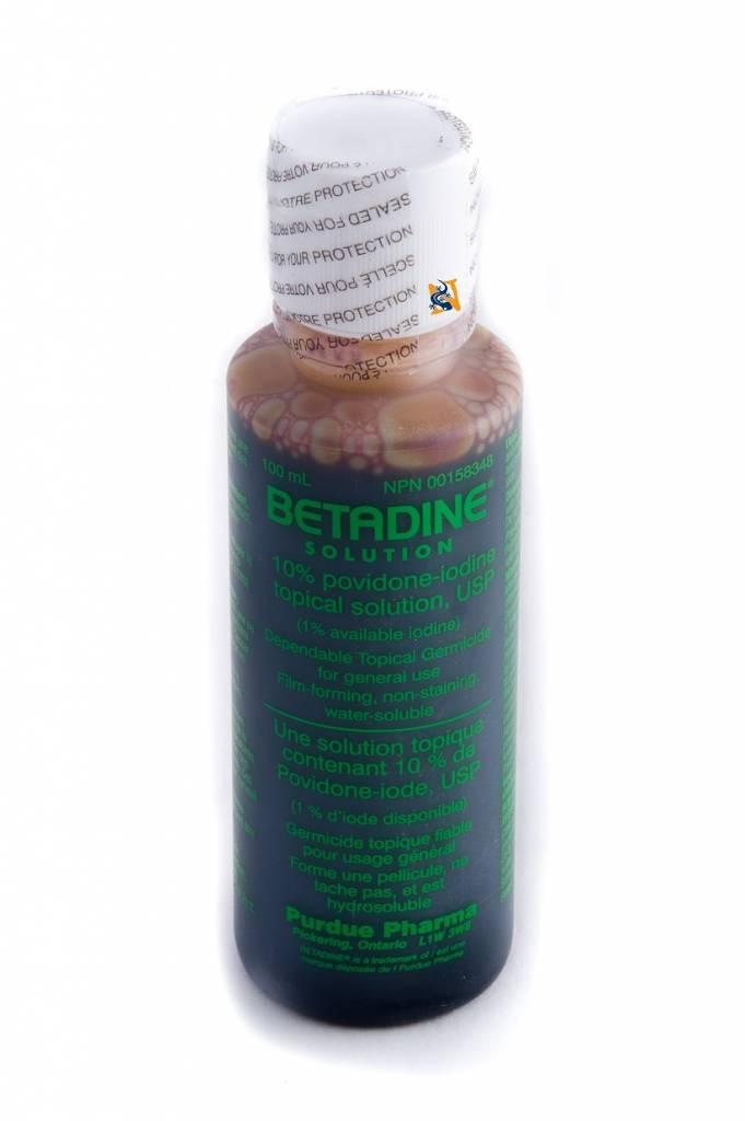 Solution de Betadine 100 ml - Betadine Solution 100ml