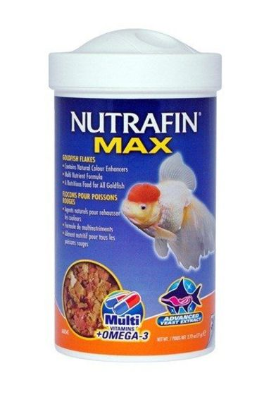 Nutrafin Flocons pour poisson rouge avec Omega 3