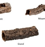 Jurassic Reptile Tube d'écorce de liège - Cork bark tube