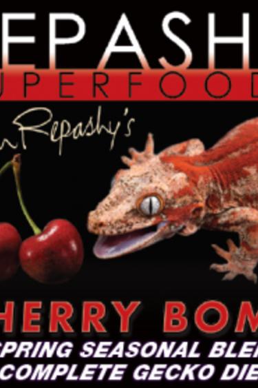 Repashy Diète Bombe Cerise Mélange saisonier - Cherry Bomb Gecko Diet - Seasonal Blend
