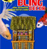 Zoomed Betta bling decoration tiki bar Betta Bling Decor - Tiki Bar