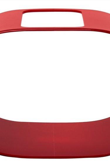 Zoomed Condo à betta 1 gal. Ovale Rouge