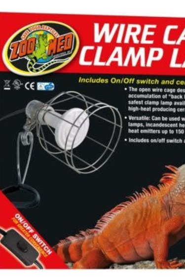 Zoomed Lampe à pince en broche - Wire Cage Clamp Lamp