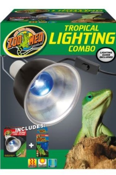 Zoomed Combo d'éclairage tropical / Tropical Lighting Combo Pack