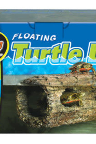Zoomed Buche flottante pour tortue - Floating Turtle Log