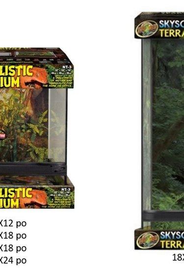 """Zoomed Terrarium """"Naturalistic"""""""