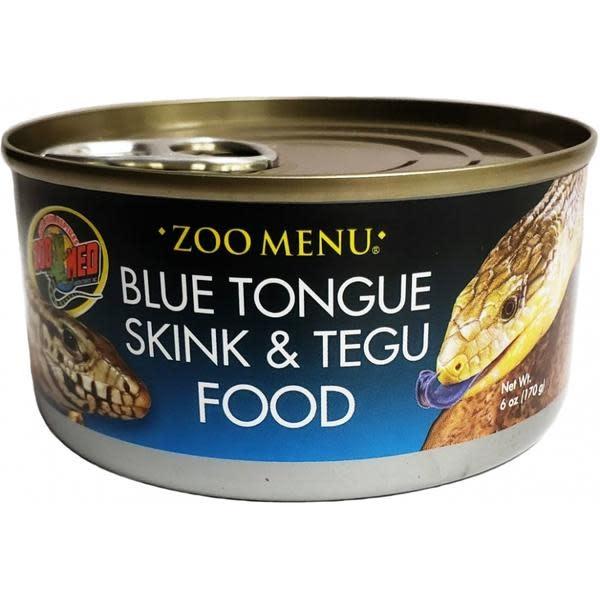 Zoomed Nourriture pour scinque à langue bleue et tegu 6 oz.