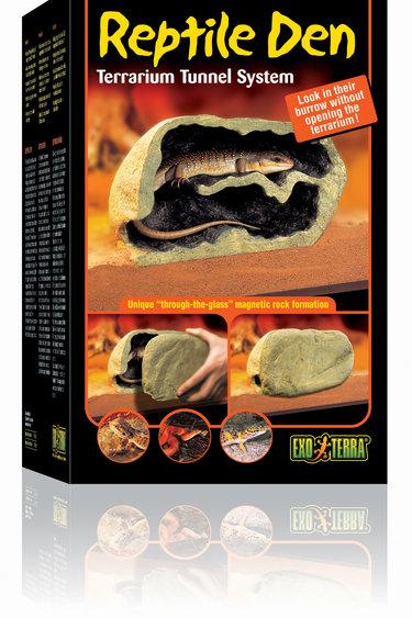 Exoterra Grotte magnétique pour reptile grande