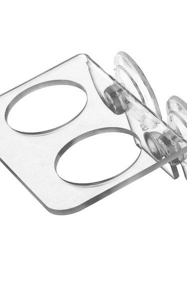 Pangea Coupe de rebord en acrylique à succion pour gecko - Acrylic Gecko Ledge (Suction Cup)