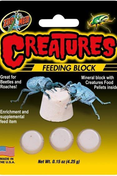 Zoomed Bloc d'alimentation Creature - Creature feeding block
