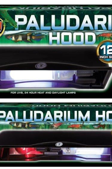 Zoomed Rampe d'éclairage pour paludarium - Paludarium hood