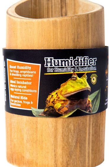 "Galapagos Bambou pour humidifier 6 X 4""/Bamboo Tube Hide"