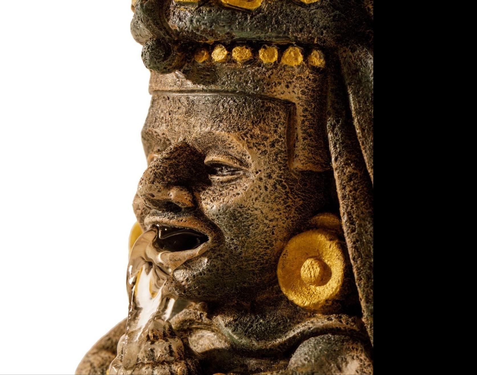 Exoterra Cascade Aztèque sacrée de Centeotl